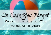 working memory building for ADHD children