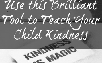 Teach your child kindness