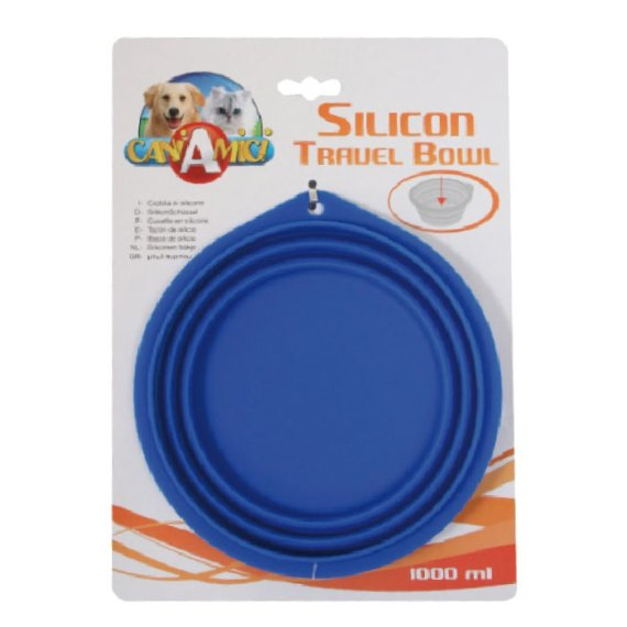 bowl plato silicona para perros