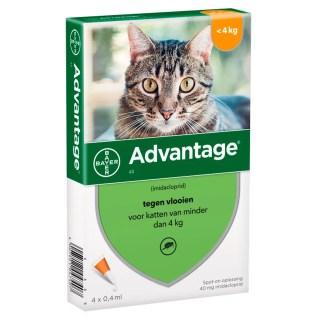 pipeta antipulgas para gatos advantage menor a 4kg en lima peru
