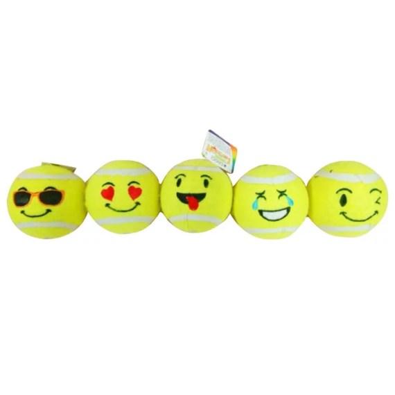 C6098880 pelota para perros de tenis de emoji peru