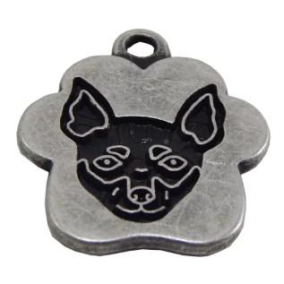 placa de identificacion para perros grabado peru lima pincher