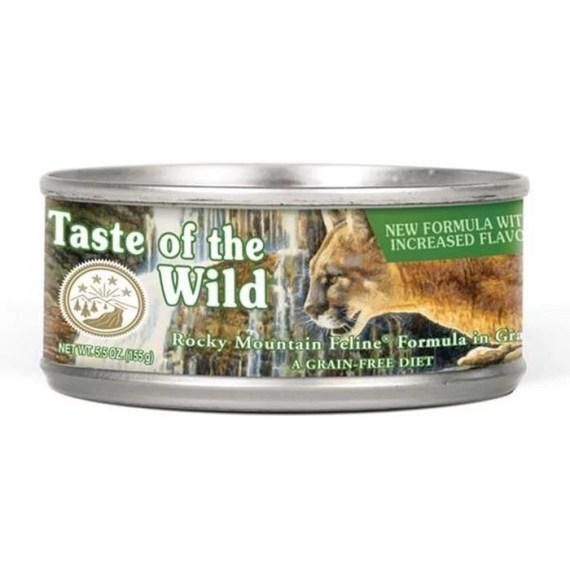taste of the wild rocky mountain gatos