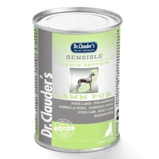 lata comida para perros dog food dr clauders sensible lamb cordero lima peru