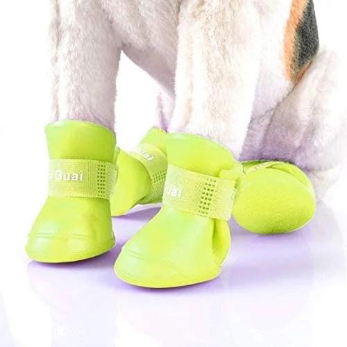 zapatos para perros para la lluvia de goma en lima peru