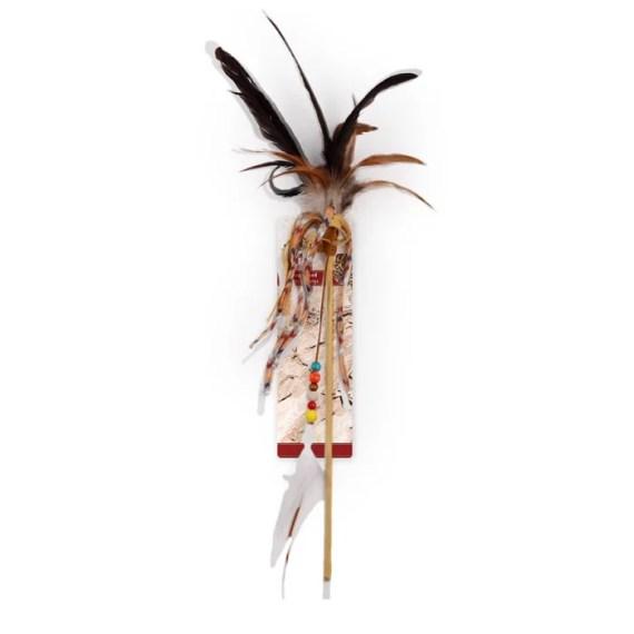 palita vara juguete para gatos de cintas y plumas en miraflores lima peru
