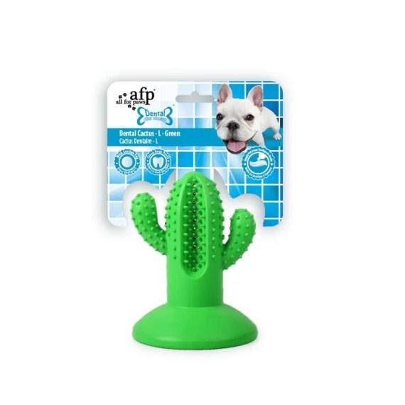 juguete para perros cactus con succión para el piso y limpiar dientes en miraflores lima peru all for paws