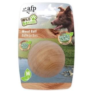 juguete para perros pelota de madera all for paws en miraflores lima peru