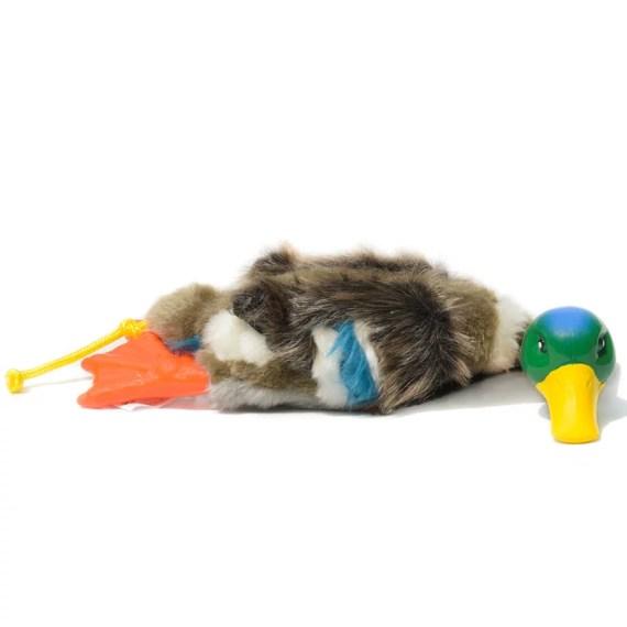 juguete peluche para perros de pato real all for paws en miraflores lima peru