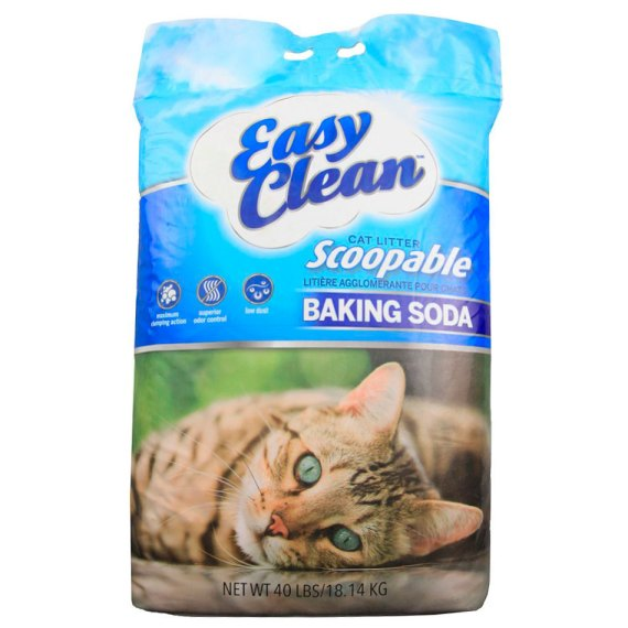 arena para gatos easy clean scoopable baking soda