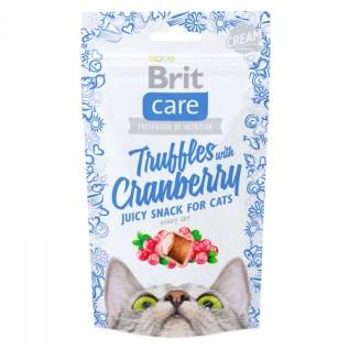 brit truffles with cranberry snack treat premio para gatos en miraflores lima peru