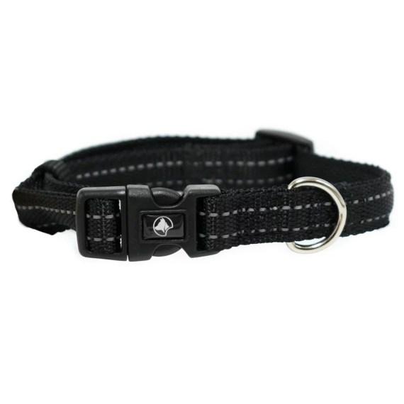 collar para perro reflectivo en Miraflores Lima Peru negro croci