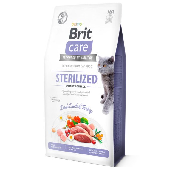 brit care sterilized weight control esterilizado comida para gatos en miraflores lima peru