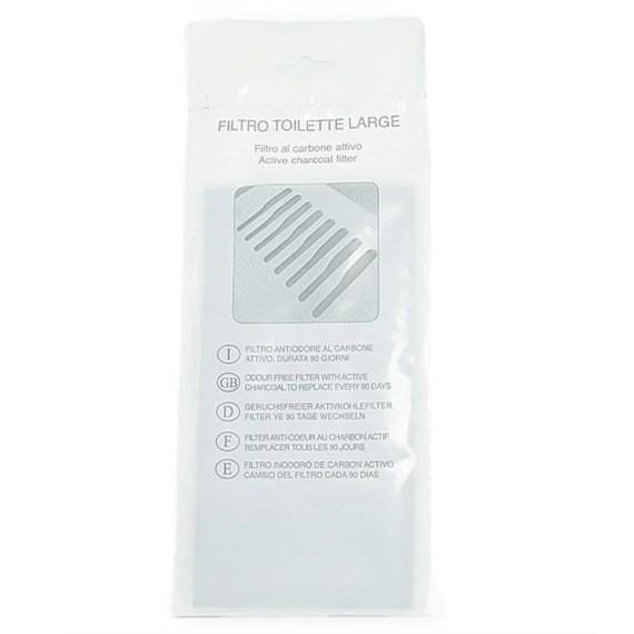 Filtro de carbon para caja de arena para gatos
