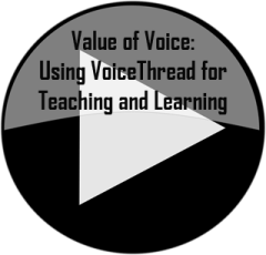 play button with Value of Voice: Using VoiceThread for Teaching and Learning