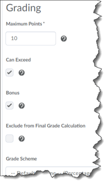 bonus grade item