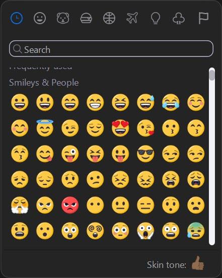 Zoom emojis