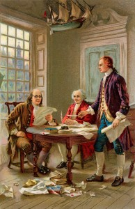 Ben Franklin & Friends, pre-Twitter era (iClipart)