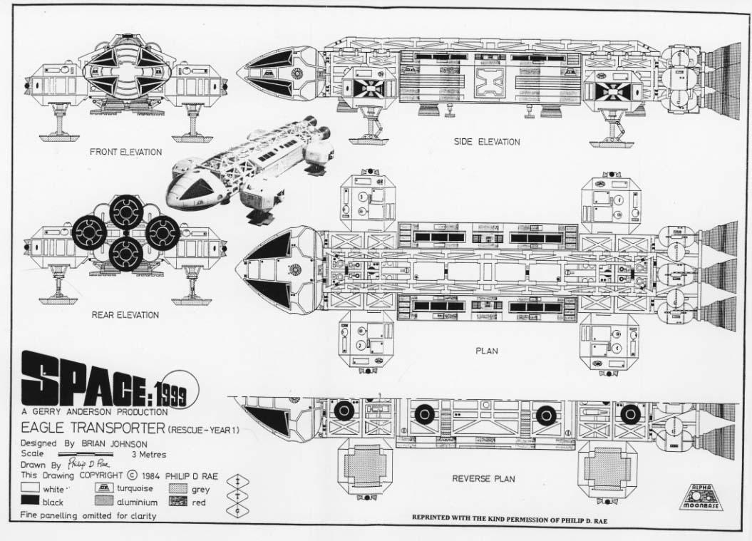 Eagle blueprints