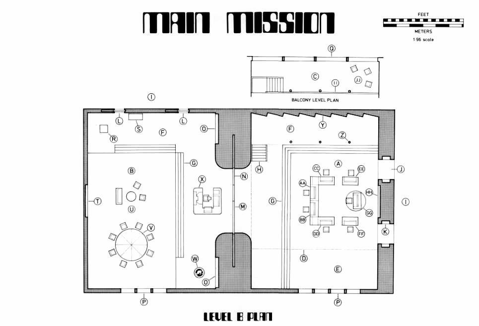 Main Mission Blueprint
