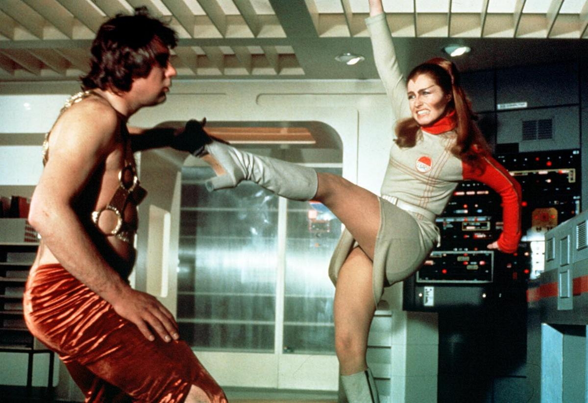 Space 1999 Catacombs Publicity Fight
