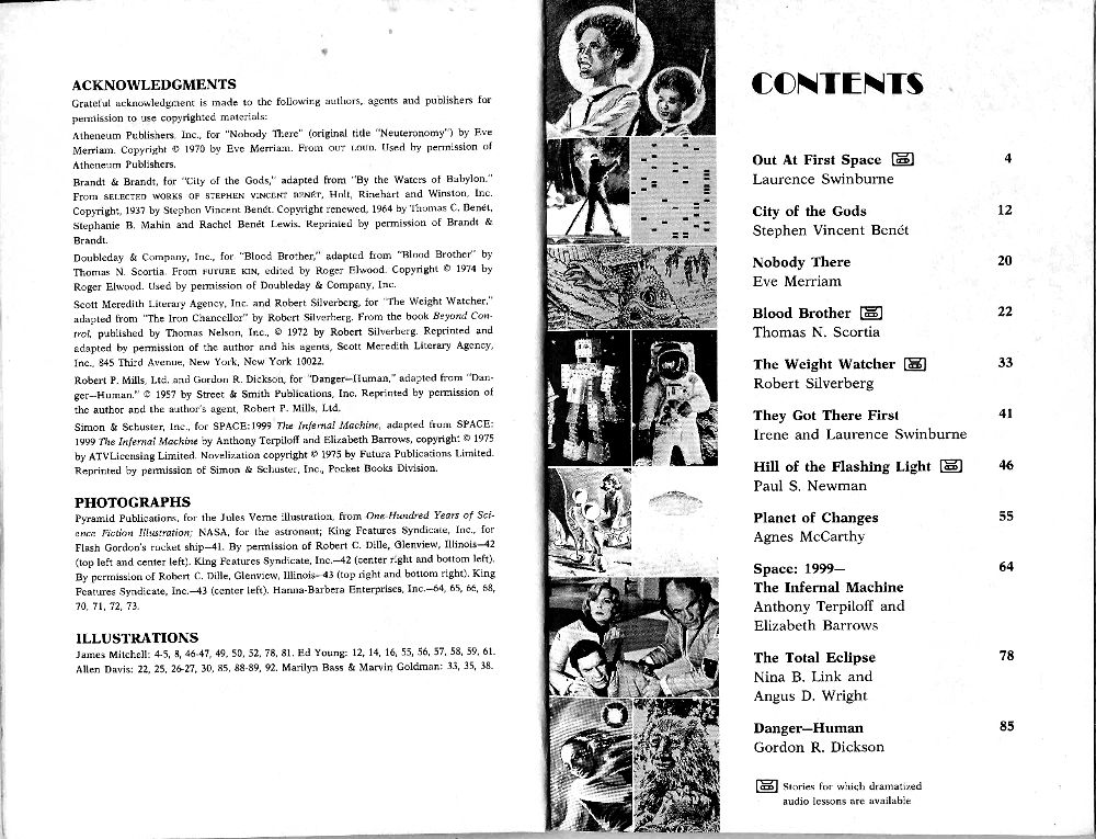 Space 1999 Merchandise Guide: Novelisations
