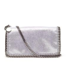 Stella McCartney Falabella faux suede clutch bag £500