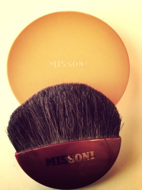 Missoni with brush