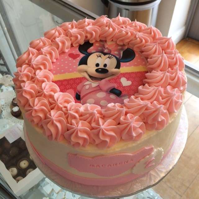 Birthday Cake for a Minnie Birthday Theme