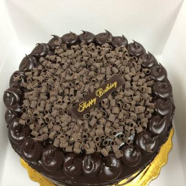 Chocolate Cake Peruvian Style by Catalina's Bake Shop