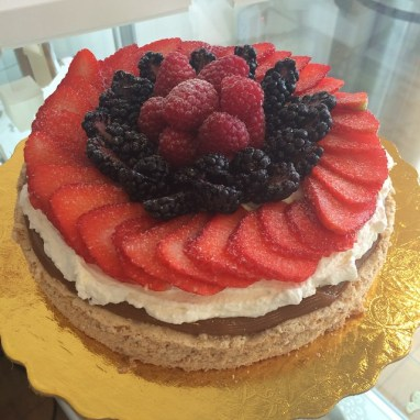 Fresh Berries Almond Dacquoise
