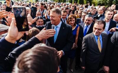 Iohannis câștigă alegerile în Bacău