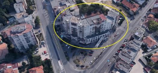 Fațada bloc Cipariu