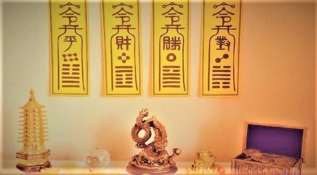 Talismane Taoiste Fu
