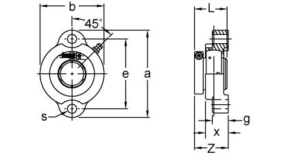 Item # UETFT205, Accu-Loc® Concentric Collar Locking Two