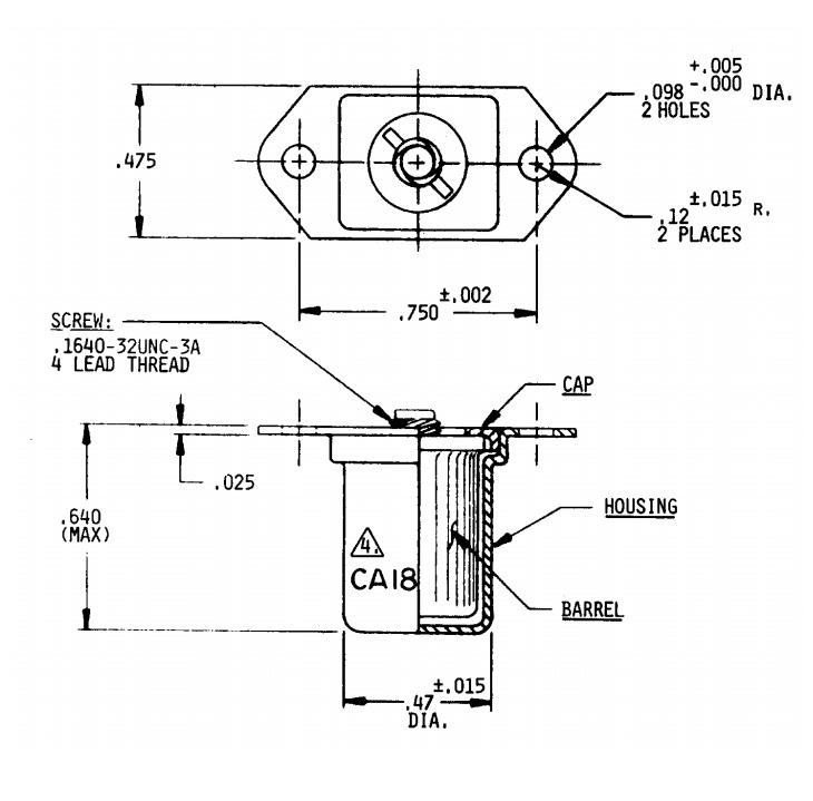 Item # CA18193, CA18193 Series LiveLock™ Receptacle