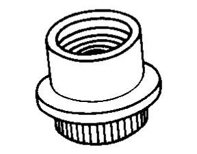 Item # DB 506, DA-DB-DC 5 Nut- Clinch Flush Mounting