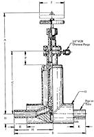 Item # CP5-824-CSTG1M, Vacuum Jacketed Manual Cryogenic