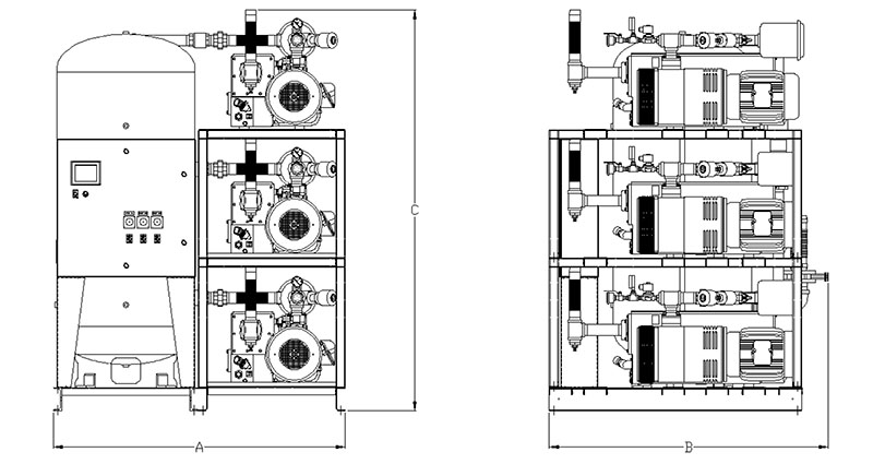 Item # LVPT0755, Laboratory Lubricated Oil Sealed Rotary