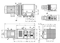 Item # KTA 140 /1, Elmo Rietschle 63.6 cfm Air Flow