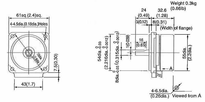 Item # FY6S6-D3, Simple Type Motor On Japanese Products Corp.