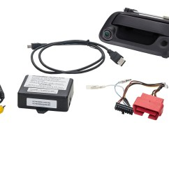 tailgate handle reverse camera integration kit for select fords echomaster [ 3790 x 1848 Pixel ]