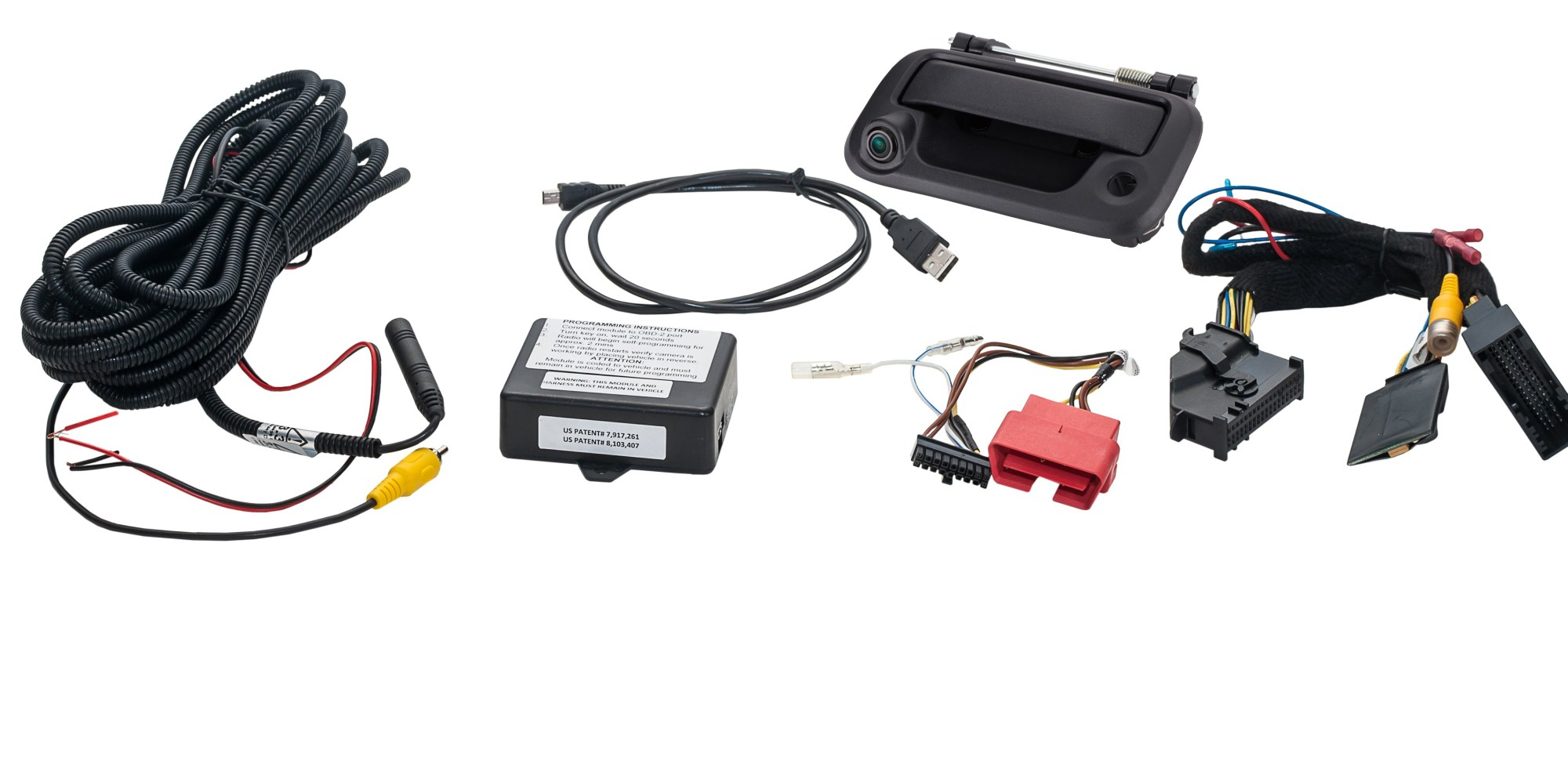 hight resolution of tailgate handle reverse camera integration kit for select fords echomaster