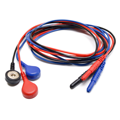 Snap electrode leads, 24 inch