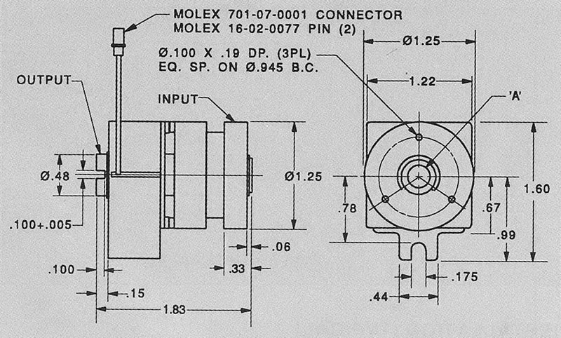 Model No. SP-1611-3125, Spring Wrapped Solenoid Operated