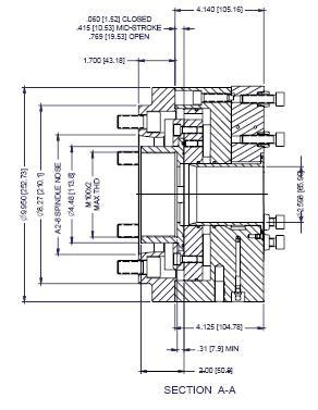 Model PPC250D-3/QC, PPC250D Precision Power Chuck Models