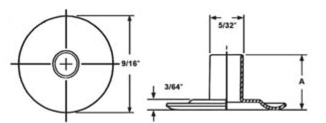 Item # MS27980-10B, Size 3 Eyelet On Monroe Aerospace (ECAS)