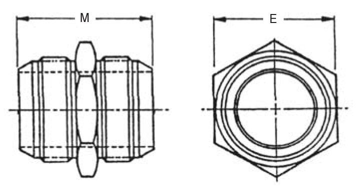 Item # AN815-16J, 3/4 Inch Tube Outer Diameter AN815 37
