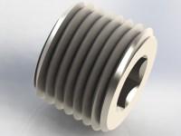 Miniature Stainless Steel Fittings - NPT Pipe Plug ...