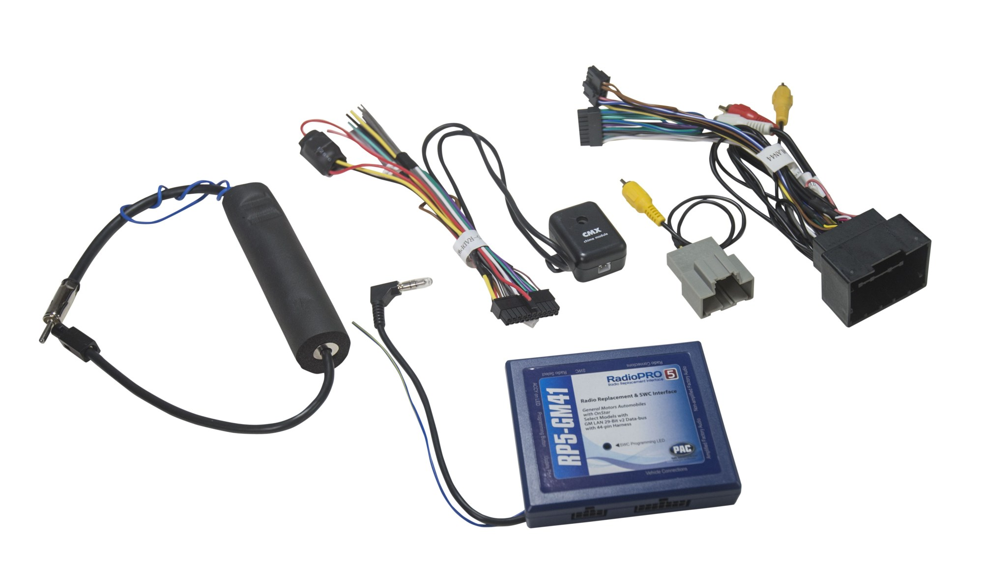 hight resolution of radiopro radio replacement interface for select general motors vehicles pac